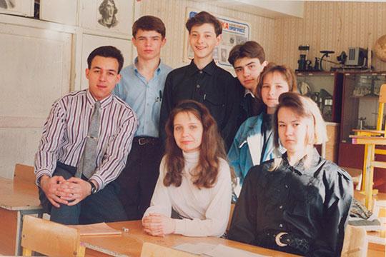 Азат Ахунов – учитель арабского языка в школе №39, 1994 г.
