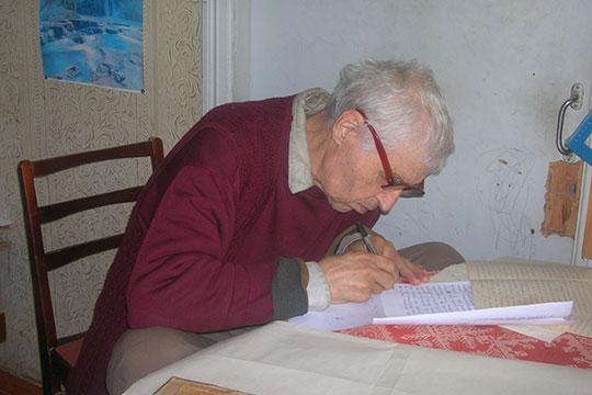 Марат Валишин у себя дома, 2005 г.