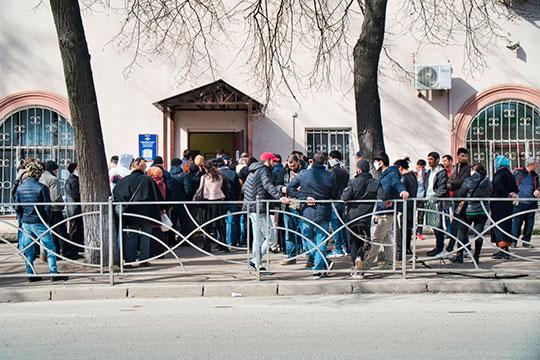 По данным МВД по РТ, за 4 месяца 2020 года на миграционный учет в республике успели поставить 72,1 тыс. иностранных граждан