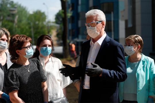 Сергей Собянин:«Все основные ограничения при условии сохранения эпидемиологической безопасности, сучетом санитарных мер виюне будут сняты»