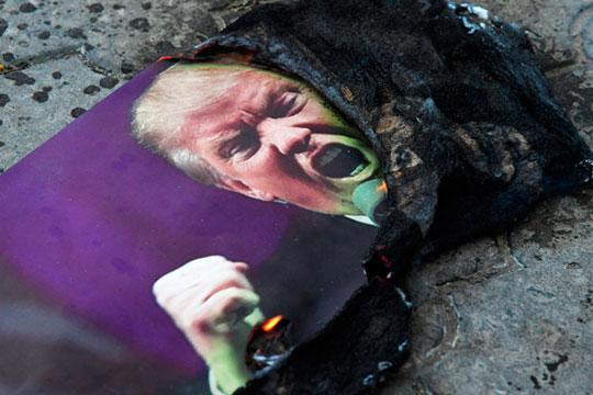«Главное, что мы видим сегодня в США — что значительная часть общества там просто наэлектризована ненавистью к Трампу»