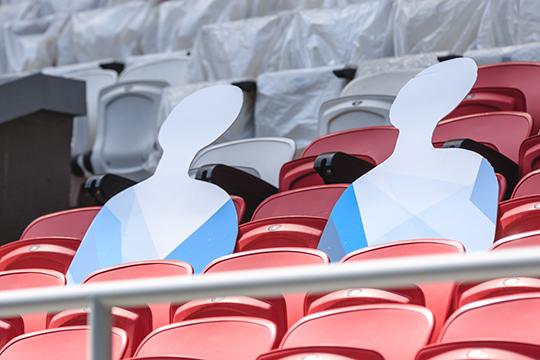 Вместимость «Ак Барс Арены» – 45379 мест. Ранее Роспотребнадзор разрешил заполнять стадионы на 10% от их вместимости, так что клуб сможет допустить 4538 зрителей
