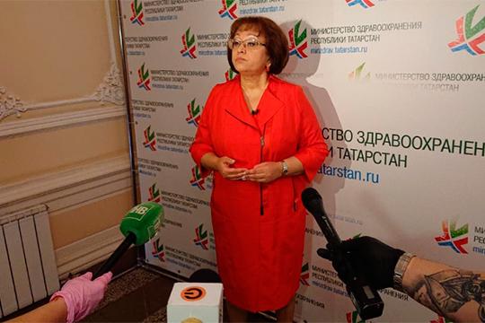Фарида Яркаева рассказала, что Татарстану досталось 300 упаковок нового препарата против коронавирусной инфекции «Авифавир» на сумму более 6,6 млн рублей