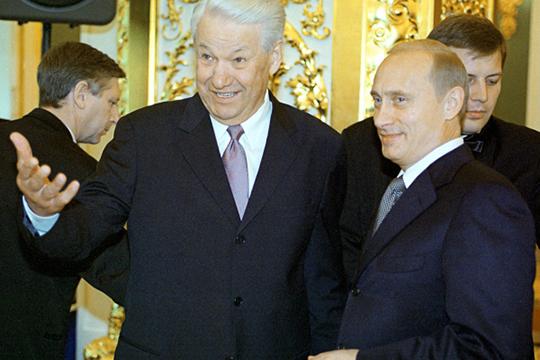«Вспомните, как наступило время Путина. Ельцин 31 декабря сказал по телевизору: «Я устал, я ухожу», — и у нас наступил период стабильности»