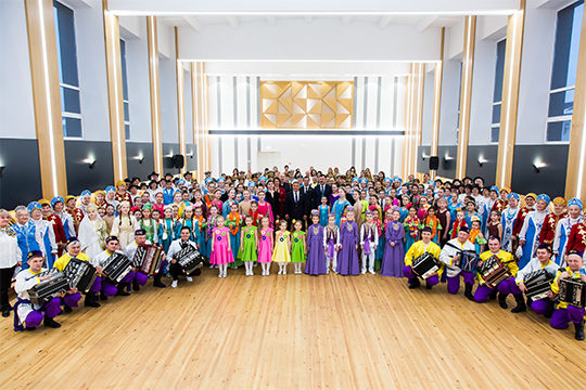 «В декабре 2019 года после капремонта президент Татарстана Рустам Минниханов открыл КЦ «Сайдаш» (бывший ДК «Строителей») и высоко оценил проведенную работу»