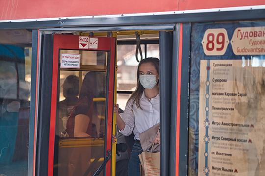 Казанские перевозчики сейчас вывели на маршруты 100% подвижного состава, но пассажиропоток сейчас составляет лишь 60% от уровня до начала коронавирусных ограничений