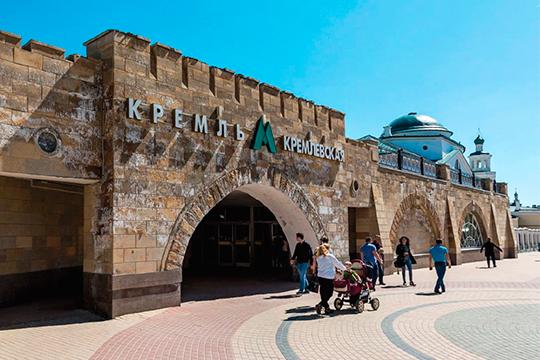 Строительство подземных галерей отНикольского собора истанции метро «Кремлевская» доулицы Мусы Джалиля приурочили кпразднованию 1000-летия Казани