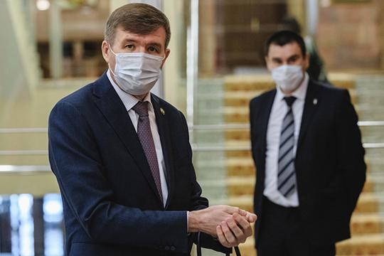 «Меня назначили на пост министра еще до пандемии коронавируса, и, конечно, вся эта ситуация для экономики настоящий вызов»