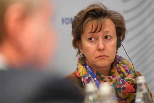 Вероника Никишина: «Другие правительства нарастили уровень риска, который государство берет на себя, гарантируя своим экспортерам его покрытие при выходе на внешние рынки, у нас позиция диаметрально противоположная»