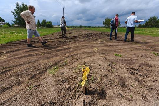 ООО «Газпром трансгаз Казань» сообщило, что газопровод и его охранная зона (по 2 метра от оси в каждую сторону) размещаются на земельном участке, принадлежащем Лаишевскому муниципальному району