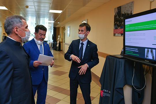 «Татарстанским врачам в борьбе с COVID-19 поможет искусственный интеллект. Современные эпидемии требуют новых подходов к управлению здравоохранением»