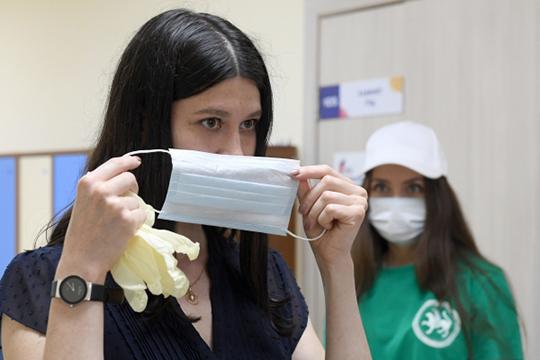 «Мы советуем участникам голосования прийти со своими средствами индивидуальной защиты — масками и перчатками, а также авторучками»