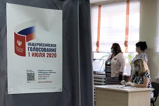 Из-за эпидемиологической обстановки в связи с распространением коронавируса голосование впервые в истории началось загодя, за 6 дней до основной даты — 1 июля