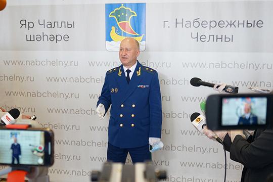 На этой неделе Челны посетил прокурор Татарстана Илдус Нафиков