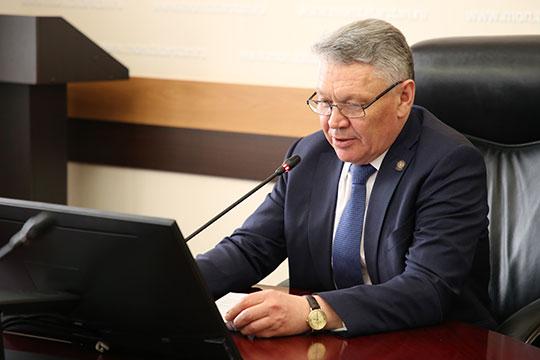 Уже вторую онлайн-беседу за два месяца с жителями Татарстана провел сегодня заместитель премьер-министра, министр образования и науки РТ Рафис Бурганов
