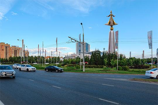 На пересечении Оренбургского тракта и Парина