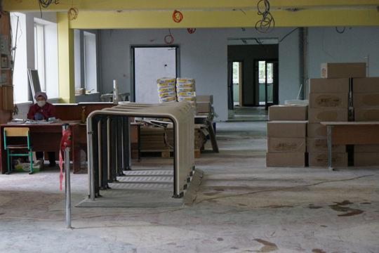 На обновление здания, которое было построено в 1989-м году было выделено 141 млн рублей. Еще 38 млн выделили на закупку оборудования и мебели для школы