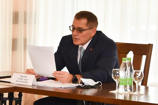 Повышение тарифов абсолютно неприемлемо для депутатов, которые и так получают постоянные нарекания по этому поводу от избирателей, заявил Тыгин