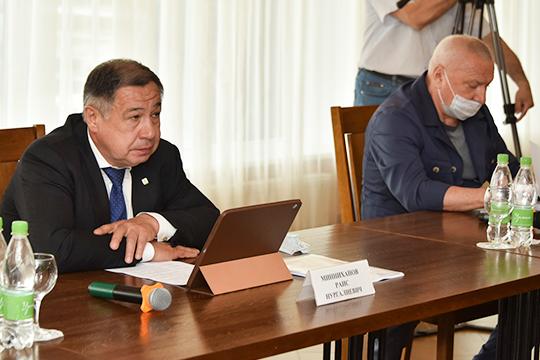Раис Минниханов: «Сергей Александрович, ты уж извини — но когда у нас в районе появился региональный оператор, изменилась пока только ценовая политика. Цена в два раза увеличилась»