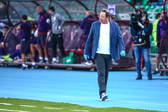 За 6 матчей при Слуцком «Рубин» забил три гола, что по-прежнему очень мало