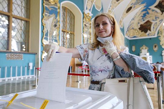 По официальным данным ЦИК РФ, за реформу высказались 77,92% избирателей, против — 21,27%, при общей явке в 65%