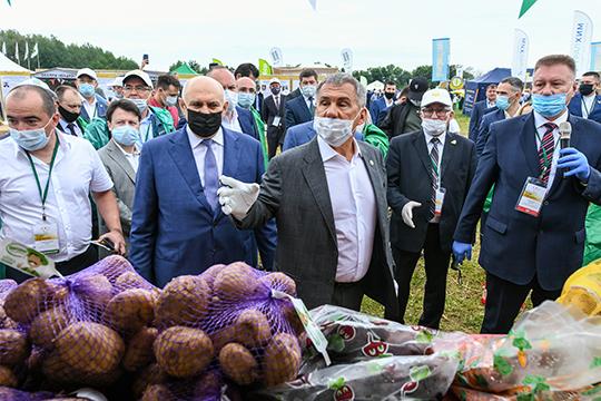 Казылык изутки итатарский мед: что показали Минниханову на«Днях поля»?