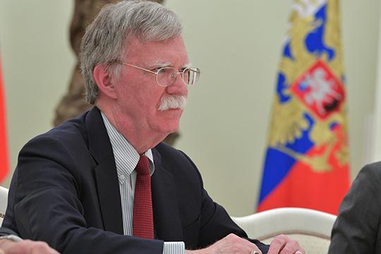 «В аппарате война идет всегда, хоть в российском, хоть в американском. Посмотрите, Болтон нарушил своей книгой все правила поведения в американском аппарате»