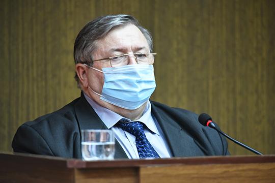 Ильгизяр Бариев:«Наш город входит вчисло 15 муниципальных образований, вкоторых сохраняется высокий уровень эпидемиологической ситуации»
