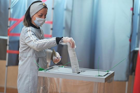Магдеев оценил высокую активность горожан вовремя голосования попоправкам вКонституции РФ