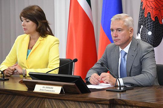 Первый заместитель мэра Евгения Лодвигова (слева) заработала 3 млн. Руководитель исполкома Денис Калинкин задекларировал 4,3 млн рублей, что на полмиллиона меньше, чем в 2018-м