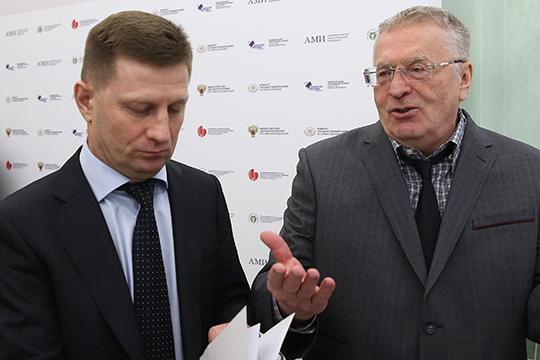 Владимир Жириновский: «Если действительно в 2004, в 2005 году были какие-то преступления, убийства, неважно, что, и был якобы замешан Сергей Иванович Фургал, чего вы ждали 15 лет?»