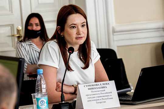 Спикером всех торговых центров стала полномочный представитель российской гильдии управляющих и девелоперов в РТ Елена Стрюкова