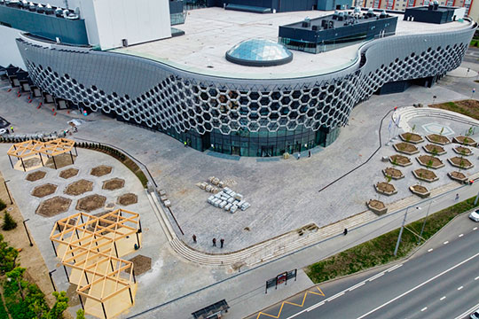 UD Group переносит открытие центра семейного отдыха KazanMall на улице Павлюхина. Как говорят источники «БИЗНЕС Online», планы открытия в августе сдвинуты на конец года из-за коронавируса