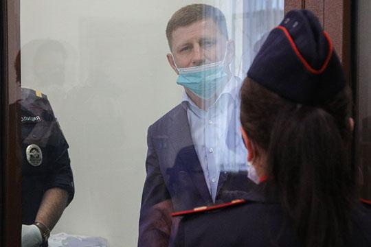 Суд арестовал на два месяца по делу об убийствах главу Хабаровского края Сергея Фургала