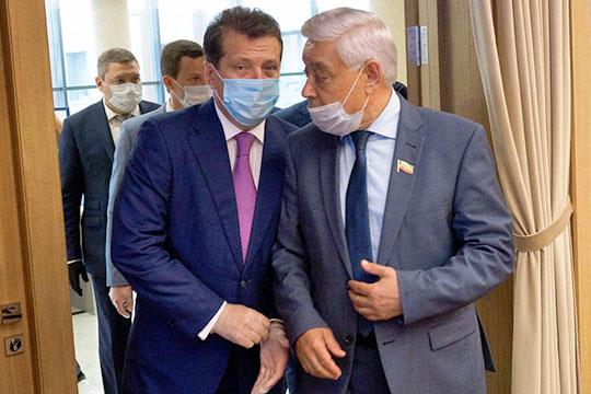 Мэр Казани Ильсур Метшин, возглавивший партсписок ЕР, озвучил предвыборную «антивирусную стратегию» до 2025 года