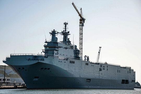 Универсальный десантный корабль «Мистраль»