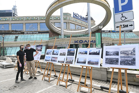 В этот раз главу Татарстана заинтересовали пять точек, среди которых и многострадальный ТРЦ «Кольцо», ожидающий своей реконструкции