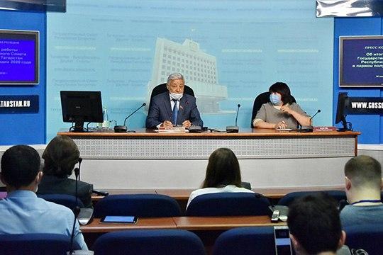 Прошедшее полугодие, пожалуй, оказалось для законодателей самым насыщенным за всю историю, заявил Мухаметшин на пресс-конференции, которая состоялась через час после окончания сессии