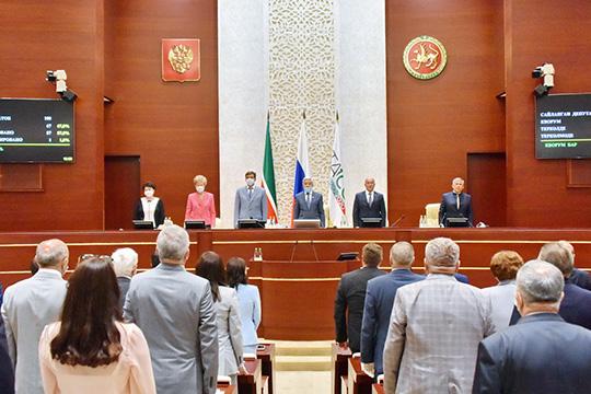 Татарстанские парламентарии рассмотрели три десятка вопросов, большинство из которых носили скорее технический характер и касались точечных законодательных инициатив
