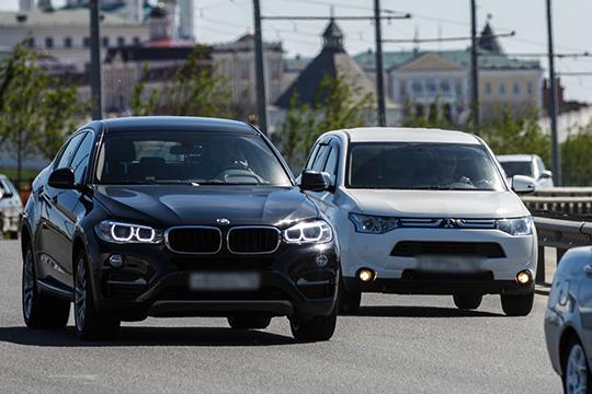 Татарстанскую «бронзу» вмодельном ряду BMW получает компактный седан 3 Series с«конюшней» на2577 «голов» идолей 17,8% отвсего парка баварцев