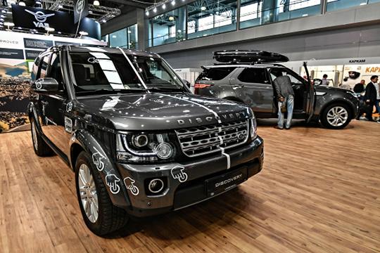 «Серебро» влинейке Land Rover получает Discovery срезультатом вреспублике 615 авто и17-процентной долей отвеса марки