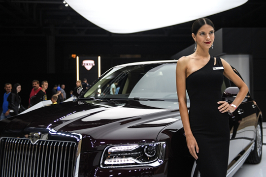 Минувший 2019-й год ознаменовался постановкой научет (пока вединственном числе) новой гордости отечественного автопрома— автомобиля Senat марки Aurus
