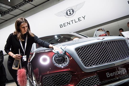 В прошлом году год вТатарстан подоспели 10 Bentley, азапятилетку— 26, после чего популяция бренда достигла 48 авто