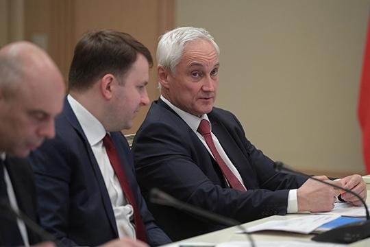 Наши надежды на Андрея Белоусоваивице-премьера повопросам оборонно-промышленного комплексаЮрия Борисоваоправдываются, кним начинают примыкать идругие члены правительства