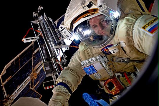 «Когда тыдействующий космонавт, тебя вечно нет дома— тылибо вполете, либо готовишься кнему, либо реабилитируешься после него»