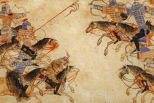 Основу этих империй составляло невнутренне хозяйство, аэксплуатация оседлых окраин, выкачивание изних средств для содержания кочевой аристократии