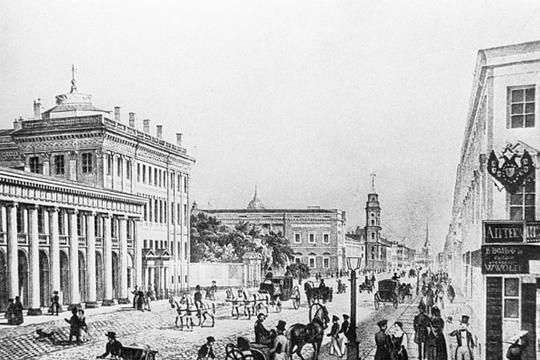 75 тысяч жителей— это даже померкам Российской империи XIX века— очень большой город. Например, численность населения Петербурга всередине XIX веке— 500 тысяч, Москвы— 200 тысяч, Казани— 30 тысяч