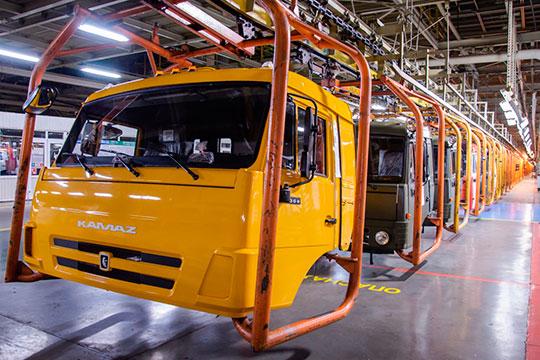 Отдельного внимания заслуживает КАМАЗ. Врассматриваемый периодвцелом вреспублике было произведено 17211 грузовиков— на1,7% больше, чем заянварь–май 2019 года