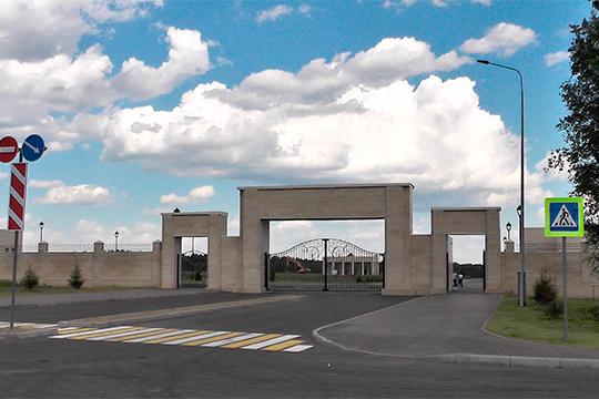 Новый погребальный комплекс Казани утрассы М7 на147,5тыс. захоронений откроют 10августа