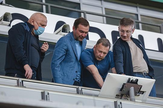 «Спартак», как и ожидалось, вернул на «Ак Барс Арену» вип-болельщиков, которых не было на прошлых матчах в Казани